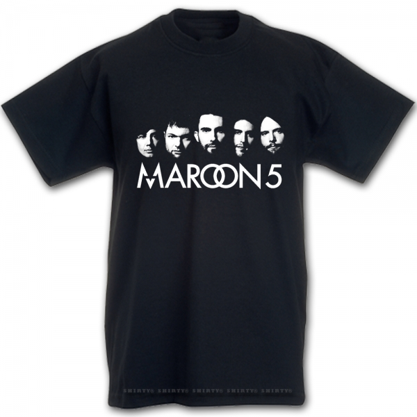 T-Shirt - Maroon 5 -  A Girl like you -
